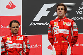 Felipe Massa, Fernando Alonso, 2010 German GP