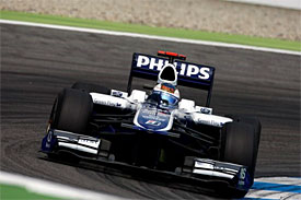 Rubens Barrichello, Williams, German GP
