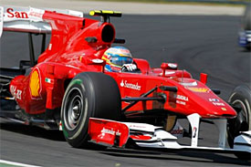 Fernando Alonso, Ferrari, Hungarian GP