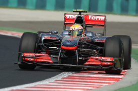 Lewis Hamilton, McLaren, Hungaroring