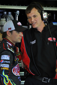 Jeff Gordon and Steve Letarte