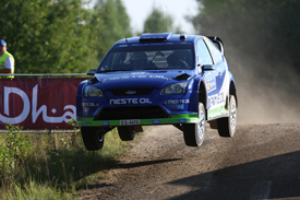 Juha Kankkunen, Stobart Ford, Rally Finland 2010
