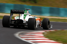 Adrian Sutil, Force India, Hungary 2010