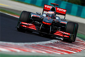 Jenson Button, McLaren, Hungarian GP