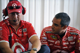 Brian Pattie and Juan Pablo Montoya