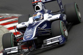 Rubens Barrichello, Williams, Hungaroring 2010