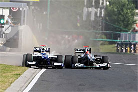 Rubens Barrichello, Michael Schumacher, Hungarian GP