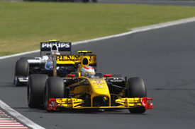 Vitaly Petrov, Renault, Hungary 2010