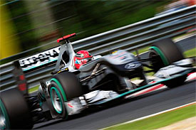 Michael Schumacher, Mercedes, Hungarian GP