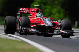 Lucas di Grassi, Virgin, Hungarian GP