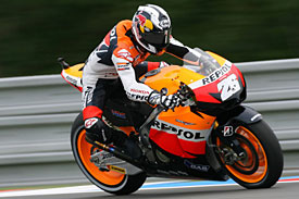 Dani Pedrosa, Brno, 2010