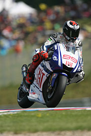 Jorge Lorenzo, Yamaha, Brno 2010