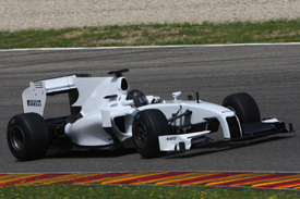 Nick Heidfeld, Pirelli testing