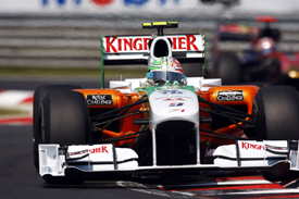 Tonio Liuzzi, Force India, Hungary 2010