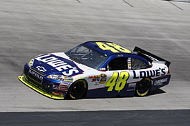 Polesitter Jimmie Johnson, Bristol, 2010