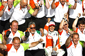 Force India, Spa, 2009