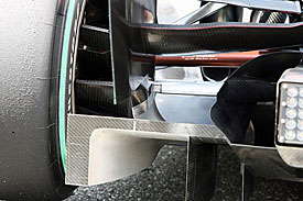 Mercedes blown-diffuser, Germany, 2010