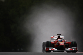 Fernando Alonso, Ferrari, Spa practice 2010