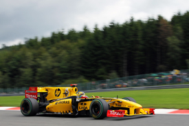 Robert Kubica, Renault, Spa 2010