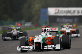 Adrian Sutil, Force India, Spa 2010