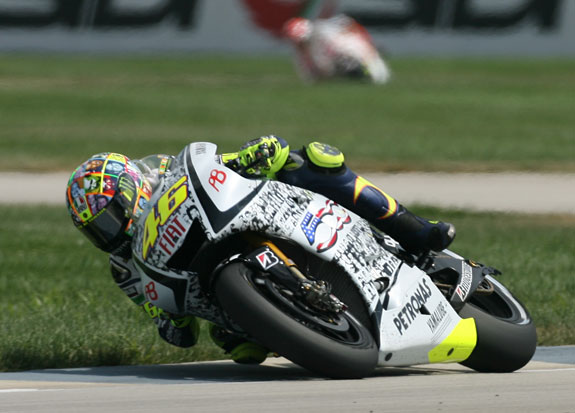 Valentino Rossi says the racing needs to be spiced up