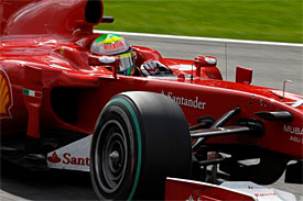 Felipe Massa, Ferrari, Belgian GP