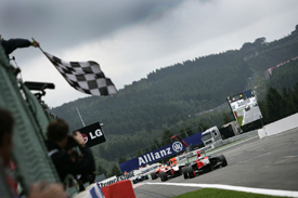 Adrien Tambay wins at Spa