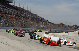 Milwaukee IndyCar start 2009