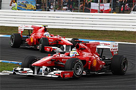 Felipe Massa, Fernando Alonso, German GP