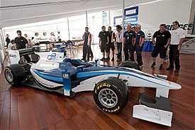 The GP2 car