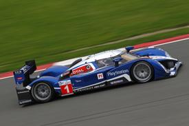 #1 Peugeot, Silverstone practice