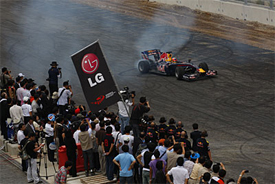 Karun Chandhok, Red Bull demo in Korea