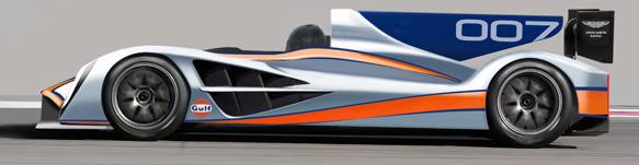 Aston Martin LMP1 prototype mock-up