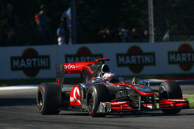 Jenson Button, McLaren, Monza