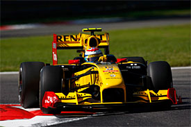 Vitaly Petrov, Renault, Italian GP