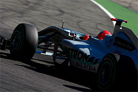 Michael Schumacher, Mercedes, Italian GP