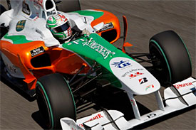 Tonio Liuzzi, Force India, Italian GP
