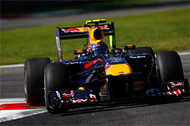 Mark Webber, Red Bull, Italian GP