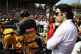 Dario Franchitti at Monza