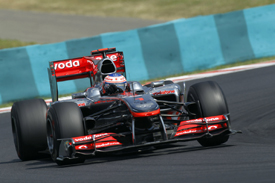 Jenson Button, McLaren, Hungary
