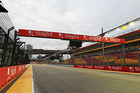 Singapore is ready for F1 action