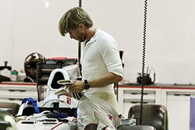 Heidfeld is back at Sauber