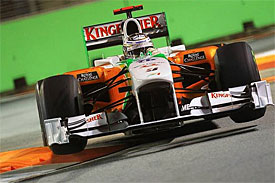 Adrian Sutil, Force India, Singapore GP