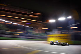 Michael Schumacher, Mercedes, Singapore GP
