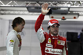 Fernando Alonso, Ferrari, Singapore GP
