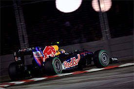 Mark Webber, Red Bull, Singapore GP
