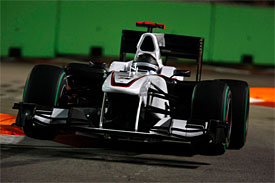 Nick Heidfeld, Sauber, Singapore GP