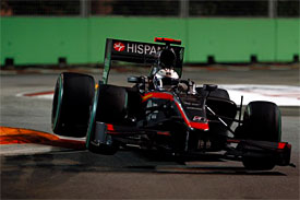 Christian Klien, HRT, Singapore GP