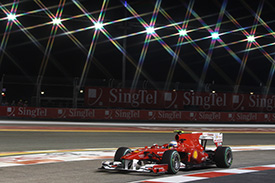 Alonso dazzled the rest of the field with pole position