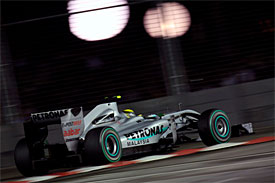 Nico Rosberg, Mercedes, Singapore GP